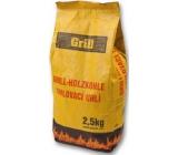 Grill Drevené grilovacie uhlie 2,5 kg