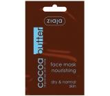 Ziaja Kakaové maslo krémová pleťová maska 7 ml