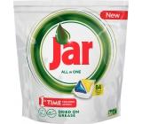 Jar All in One Lemon kapsule do umývačky riadu 84 kusov