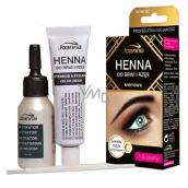 Joanna Henna Barva na obočí a řasy 1.0 černá 15 ml