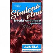 Valea Azuela Studená vlna s azulénom trvalá ondulácia s azulénom pre šedivé a farbené vlasy 100 ml