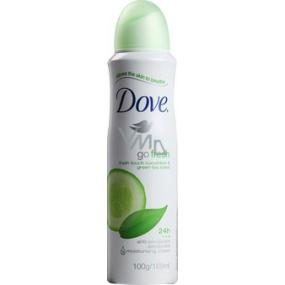 Dove Go Fresh Touch Uhorka & Zelený čaj antiperspirant dezodorant sprej pre ženy 150 ml
