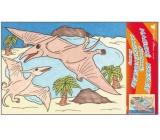 Malování vodou dinosauři č.5 28 x 21 cm