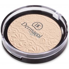 Dermacol Compact Powder zmatňujúci kompaktný púder 02 8 g