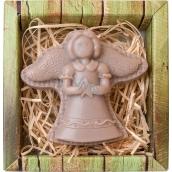 Bohemia Gifts & Cosmetics Anjel postava ručne vyrábané mydlo v krabičke 60 g