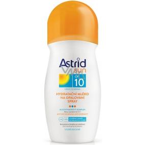 Astrid Sun OF10 hydratační mléko na opalování 200 ml sprej