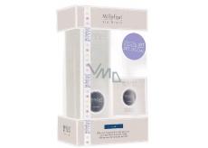 Millefiori Via Brera Cristal - Krystal Difuzér 100 ml + svíčka 180 g, dárková sada