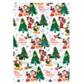 Ditipo Disney Vánoční balicí papír pro děti Bilý Mickey 2 m x 70 cm