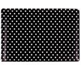 Albi Puzdro na vizitky, karty čierne Bodky 9,5 cm x 7 cm