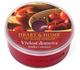 Heart & Home Vrelosť domova Sójová vonná sviečka v mištičke doba horenia až 12 hodín 38 g