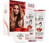 Loreal Paris Elseve Total Repair 5 regeneračný šampón na poškodené vlasy 250 ml + balzam na vlasy 200 ml + maska na vlasy 300 ml, kozmetická sada