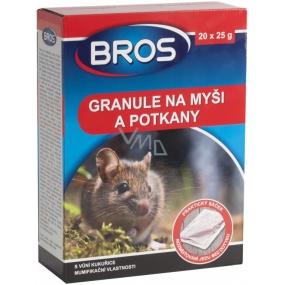 Bros Granule na myši a potkany 20 x 25 g