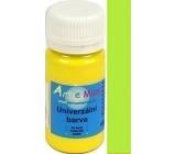 Art e Miss Univerzální akrylátová vodou ředitelná barva Neon 71 žlutá 40 g