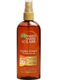 Garnier Ambre Solaire Golden Protect OF20 olej na opaľovanie 150 ml