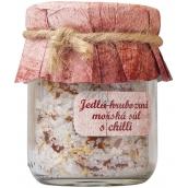 Bohemia Gifts & Cosmetics Chilli Jedlá hrubozrná morská soľ 60 g