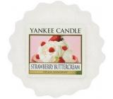 Yankee Candle Strawberry Buttercream - Jahody se šlehačkou vonný vosk do aromalampy 22 g