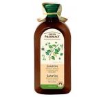 Green Pharmacy Brezové pupene a Ricínový olej šampón proti lupinám 350 ml
