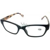 Berkeley Čítacie dioptrické okuliare +1,5 plast čierne stranice Tigrova ER4198