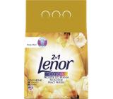 Lenor Color 2v1 Gold Orchid vôňa vanilky, mimózy, ruží a broskýň prací prášok 19 prania 1,235 kg