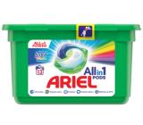 Ariel All in 1 Pods Touch of Lenor Fresh Color gélové kapsule na pranie bielizne 13 kusov 309,4 g