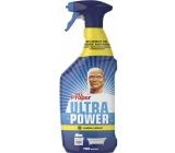 Mr. Proper Ultra Power Lemon univerzálny čistič na odstraňovanie prachu, mastnoty a nečistôt 750 ml rozprašovač