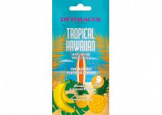 Dermacol Tropical Hawaiian omladzujúca textilná maska s extraktom z ananásu a banánového kvetu 15 ml