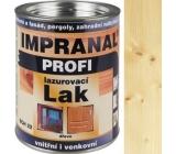 Impranal Profi lazurovací lak silnovrstvý pro dřevěné povrchy v exteriérech, interiérech SCH 22 Dub 0,75 l