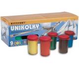 Kittfort Unikolky vodou ředitelné modelářské barvy lesklé 9 kusů