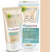 Garnier Skin Naturals Pure Active 5v1 BB cream proti nedokonalostem světlá pleť 50 ml