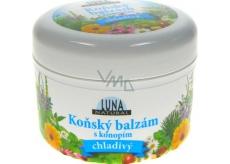 Luna Natural Konský balzam s kanabisom chladivý 300 ml