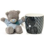 Me to You Hrneček s plyšovým medvídkem v modrém tričku 10 cm