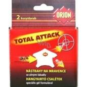 Orion nástrahy na mravce so silnými lákadlami 2 kusy