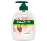 Palmolive Naturals Nourishing Almond Milk tekuté mydlo s dávkovačom 300 ml