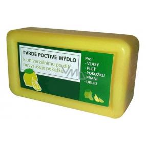 Kappus Citron Jádrové tvrdé přírodní mýdlo pro lupenózní pokožku na tělo i vlasy 150 g