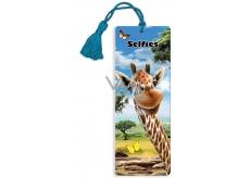 Prime3D záložka - Žirafa 5,7 x 15,3 cm