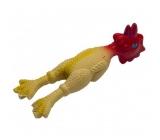 Canis Latex hračka pískací - kuře malé 15 cm