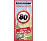 Bohemia Gifts Mliečna čokoláda Všetko najlepšie 80, darčeková 100 g
