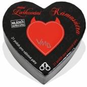 Albi Mini Laškování Kámasútra malé srdce plné inspirací do partnerského života, obsahuje21 svitkůs inspirací, pro 2 hráče, věk od 18+