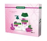 Palmolive Natur Orchid sprchový gel pro ženy250 ml + tekuté mýdlo 300 ml, kosmetická sada