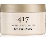 Mínus 417 Body Care Sensual Essence Aromatic Body Butter Milk & Honey aromatické výživné telové maslo 250 ml