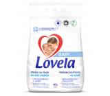 Lovela Baby Biele prádlo Hypoalergénne, jemný prací prášok 41 dávok 4,1 kg