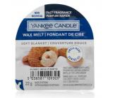 Yankee Candle Soft Blanket - Jemná prikrývka vonný vosk do aromalampy 22 g