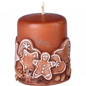 Emóciám Perník Gingerbread vonná sviečka valec 50 x 60 mm