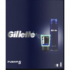 Gillette Fusion5 gél na holenie 200 ml + gél po holení 75 ml, kozmetická sada