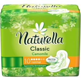 Naturella Classic Normal hygienické vložky s heřmánkem 10 kusů