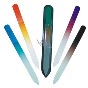 Abella Pilník skleněný oboustranný LUX 14 cm různé barvy 1 kus