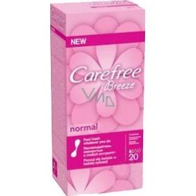 Carefree Breeze Normal slipové intímne vložky 20 kusov