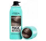Loreal Paris Magic Retouch vlasový korektor šedin a odrostů 02 Dark Brown 75 ml