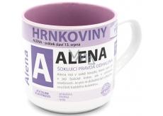 Nekupto Hrnkoviny Hrnek se jménem Alena 0,4 litru