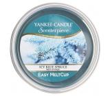 Yankee Candle Icy Blue Spruce - Zledovatělý modrý smrk, Scenterpiece vonný vosk do elektrické aromalampy 61 g